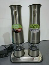Cuisinart Electric Rechargeable Electric Salt and Pepper Mill Set
