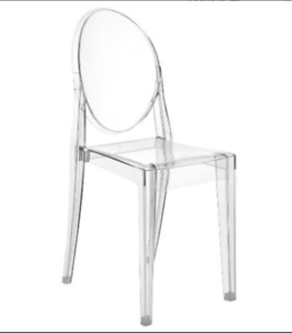 Genuine Kartell Victoria Ghost Chairs
