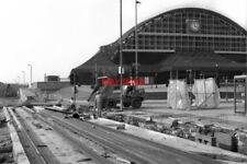 PHOTO  1990 METROLINK CONSTRUCTION APPROACHING GMEX MANCHESTER THE NEWLY LAID RA