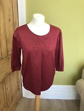Marni Red Cotton Top