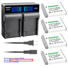 Kastar Battery LCD Rapid Charger for Canon NB-6LH CB2LY Canon PowerShot SX240 HS