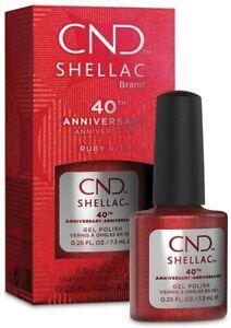 CND Shellac UV/LED Gel Nail Polish 7.3ml - RUBY RITZ