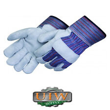 Large LEATHER Palm Work Gloves - 24 PAIR - SPECIAL