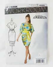 Simplicity New look sewing pattern 6120 from project runway size A 6-16 US