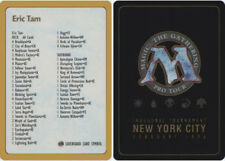 1x Decklist - Eric Tam - 1996 Heavy Play, English World Championship Cards MTG M