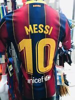 Men's Soccer Jersey FC Barcelona MESSI 10 Home 2020/21 Stadium Quality by NIKE