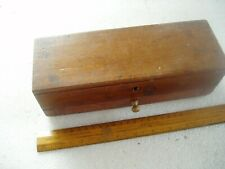 ANTIQUE SCALES & WEIGHTS BOX