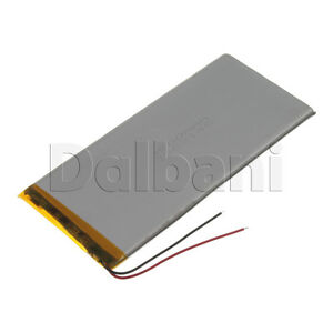 New 3.7V 3500mAh Internal Li-ion Polymer Built-in Battery 138x63x4mm 29-16-0922