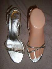 ef3383e3ac7 L.K.Bennett UK 5 EU 38 SILVER Leather Shoes RRP £ 129.00