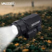 2000Lm LED Tactical Hunting Gun Torch Rifle Shotgun Flashlight Mount 20mm Rail