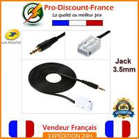 Cable MP3 auxiliaire adaptateur autoradio Pour MERCEDES Audio 20 50 APS 30 JACK