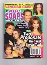 ABC SOAPS IN DEPTH GENERAL HOSPITAL TWO PROPOSALS THAT WILL SHOCK YOU APRIL 2003