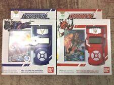 NEW Bandai Digimon Xros Wars RED+BLUE Fusion Loader ENGLISH Digivice Data Link