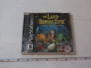 Land Before Time Return to the Great Valley Sony PlayStation 1 2000 PS1 black