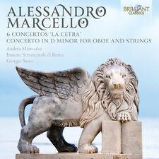 Andrea Mion Insieme - 6 Cons la Cetra & Con in D minor for Oboe & String [New CD