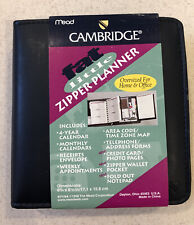 Cambridge Fat Little Day Planner Oversized Non Dated 6 14 X 6 14 Dark Navy