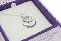Mum gift  - SILVER PLATED SILVER PENDANT NECKLACE 54449