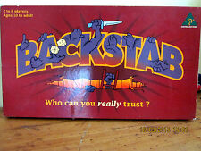 ~BACKSTAB THE BOARD GAME - MADE/DESIGNED in AUSTRALIA - 1992 - COMPLETE~