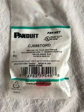 PANDUIT CJ688TGRD MINI COM TX6 Plus Jack Module Lot Of 5