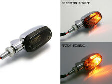 Chrome Indicators with Built in DRL for Triumph Cafe Racer & Scrambler