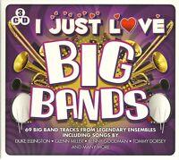 I JUST LOVE BIG BANDS - 3 CD BOX SET - GLENN MILLER * BENNY GOODMAN & MORE