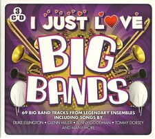 I JUST LOVE BIG BANDS - 3 CD BOX SET - GLENN MILLER * BENNY GOODMAN & MORE