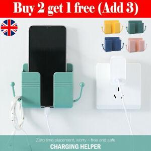 Universal Mobile Phone Adhesive Bracket Wall Mount Shelf  Charging Key Holder UK