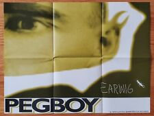 "Pegboy original Promo Poster ""Earwig"" Never Hung 18""x24"""