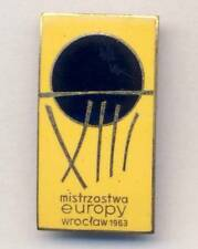 1963 FIBA European BASKETBALL Championships PIN BADGE EuroBasket Wroclaw Poland