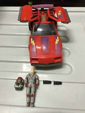 M.A.S.K Thunderhawk with broken parts come with original driver
