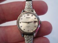 VINTAGE SEIKO AUTOMATIC HI-BEAT WATCH - 17 JEWELS - LADIES' - NOT WORKING - BBA