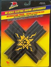 Ho Scale Slot Cars Life-Like Intersection Track, Crossover Action