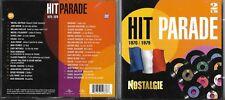 2 CD 35T 1970/1979 HALLYDAY/SARDOU/POLNAREFF/BIRKIN/DALIDA/SHUMAN/C. FRANCOIS..