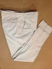 CROSSROADS womens denim pants, size 8, very light khaki color, 1 back pocket