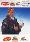 Autogramm Werner Franz (Ski Alpin)