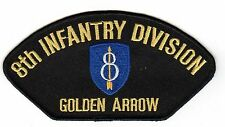 8th Infantry Division Black Hat Patch