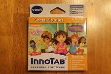 Vtech InnoTab Learning Software Dora and Friends Pre-K - K (Ages 3-6) FREE SHIP!