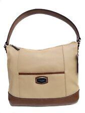 NWT Tignanello Artisan Revival Hobo Bag Dune/Cognac Leather T61510 A $159.99