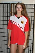 Manchester United Soccer Jersey Shirt  - Red - Men's XL
