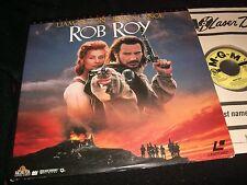 "ROB ROY <> LIAM NEESON/JESSICA LANGE <> 2X12""  Laserdiscs<> MGM (R)  ML 105410"