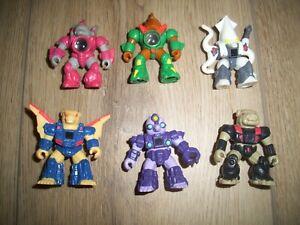 1980s Vintage Hasbro Takara Battle Beasts . 6 figures