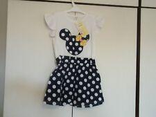 bnwt girls disney minnie mouse stylish summer dress 4-5 years
