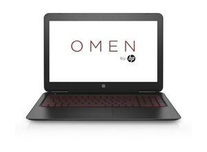 """HP OMEN 15 15.6"""" 4K Quad Core i7 3.5GHz 16GB 128GB SSD +2TB GTX Gaming Laptop"""