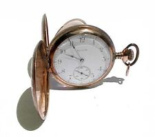 Antique Gold Plated Elgin Pocket Watch, 15 Jewel