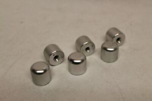 """Archery End Weight Aluminium about 17gr 1/4"""" Thread Compatible Qty 3"""