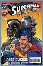 Superman #104 1995 Darkseid Appearance Dan Jurgens Jose Luis Garcia-Lopez DC