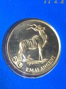 1975 Kingdom of Swaziland 50 Emalangeni .900 GOLD Coin