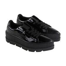 Puma заостренным Creeper патент мировая женские черные повседневные шнуровке кроссовки, обувь