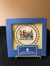 """Wedgwood White Jasper Christmas Ornament Ted's Train Edition #1 """"The Engineer"""""""