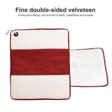 Electric Heat Pad Pain Relief Heating Mat Back Therapy HeatPad Mat Washable Tool